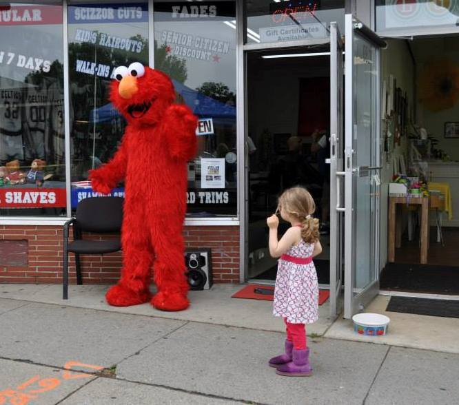 Elmo is always a big hit.