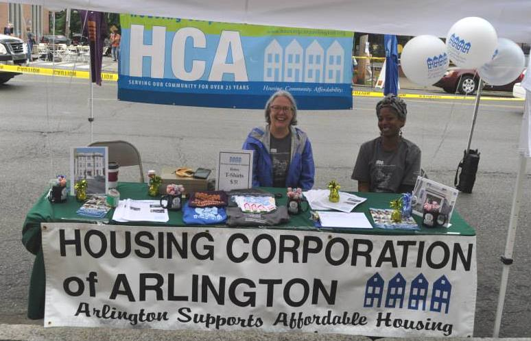 HCA's table at Feast of the East.
